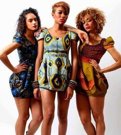 kitenge baloon dresses African print style