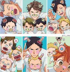 ༻𝑯𝒂𝒊𝒌𝒚𝒖𝒖 𝑩𝒐𝒚𝒇𝒓𝒊𝒆𝒏𝒅 𝑺𝒄𝒆𝒏𝒂𝒓𝒊𝒐𝒔༺ - 𝐖𝐡𝐞𝐧 𝐲𝐨𝐮'𝐫𝐞 𝐭𝐢𝐤 𝐭𝐨𝐤 𝐟𝐚𝐦𝐨𝐮𝐬 - Wattpad Manga Anime, Fanarts Anime, Anime Guys, Anime Characters, Haikyuu Karasuno, Haikyuu Funny, Haikyuu Fanart, Haikyuu Volleyball, Volleyball Anime