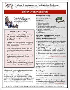 FASD Intervention - February 16, 2006 Interventions for people with FASD throughout the Lifespan.