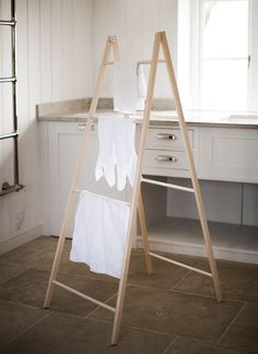 Easy to fold and store, you can never have enough drying space.