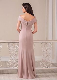 Buy discount Amazing Chiffon Bateau Neckline Mermaid Mother of the Bride Dresses With Beadings at Dressilyme.com
