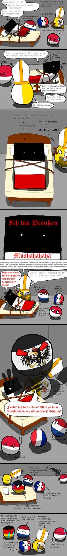 The Exorcism of Ein Reich - Polandball