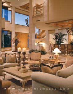 Wow! Gorgeous living room. #teamschuco #luxuryrealestate #homedecor