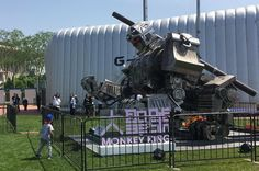 Watch out, MegaBots! China's 'Monkey King' gladiator robot wants to take you on