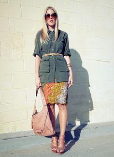 beautiful skirt idea!