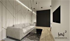 Salon w apartamencie w Warszawie @wkwadrat @wnetrzatorun Living Room