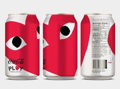 Comme des Garçons PLAY + Coke oh coke, the lovely things you do