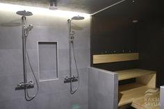 Kaksi Savua -Blogin suihkut ja sauna Modern Bathroom Design, Spa, Bathtub, Bathrooms, Standing Bath, Bathtubs, Bathroom, Bath Tube, Full Bath