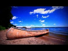 Water Relax, Meditation At The Beach - Sea Waves Hit Canoe   Sea Waves A...