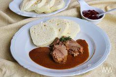 V kuchyni vždy otevřeno ...: Kančí se šípkovou podle Romana Vaňka Korn, Steak, Beef, Meat, Steaks