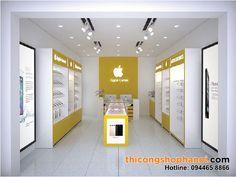Cell Phone Store, Phone Shop, Mobile Shop Design, Bureau Design, Retail Store Design, Jewelry Showcases, Backyard For Kids, Shop Interior Design, Glass Panels