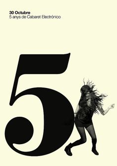 Poster 5 years of C.B. by MARIN DSGN,