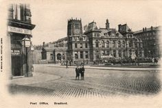 My grandmother must have seen this in Bradford, Yorkshire, before she came to the USA in 1904
