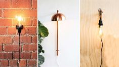 Sconces are SUPER trendy, but also super expensive. Today we're making this awesome DIY triangle wall sconce. Led Wall Lamp, Wall Sconce Lighting, Candle Sconces, Wall Sconces, Diy Wand, Diy Wood Wall, Wooden Diy, Wireless Wall Sconce, Industrial Wall Lights