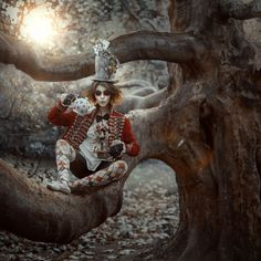 Irina Dzhul - Fashion Photography - Conceptual - Fantasy - Story - Alice In Wonderland - Mad Hatter
