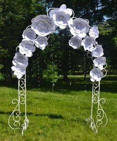 decoración con flores gigantes de papel16