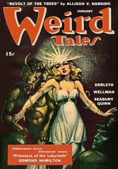 Weird Tales | Weird Tales: January 1945 | Flickr - Photo Sharing!