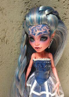 Новые перерисовки Monster High / Изготовление авторских кукол своими руками, ООАК / Бэйбики. Куклы фото. Одежда для кукол