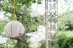 Globes from a ceiling fan turned into bird feeders. Ceiling Fan Globes, Austin Apartment, Old Lights, Light Covers, Glass Globe, Fairy Gardens, Bird Feeders, Perfect Place, Nook