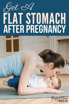 How to get a flat stomach after pregnancy. The reason its so hard to get flat abs after baby and what you can do to fix it. So few women have heard about diastasis recti and how it affects their body postpartum. Here are the facts you need to know about abs after baby. #postpartum #afterbaby #fitness #diastasisrecti #newmom #absworkout