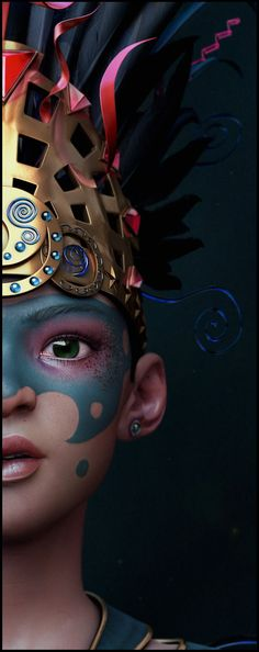 #3D #characters #design   Title: Young Princess   Name: Titouan OLIVE…