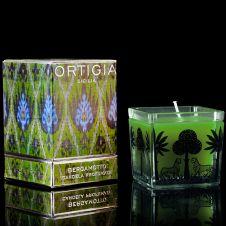 DATCHA - ORTIGIA Sicilia 'Bergamotto' Square Candle
