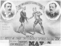 Sells Bros.Circus poster.