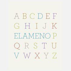 Elameno 11x14 now featured on Fab.
