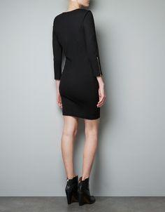 PONTE DI ROMA KNIT DRESS - Dresses - Woman - ZARA