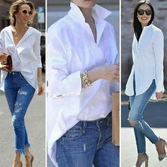 "Vogue 🌺 Paris on Instagram: ""@crimson_style_new_york . . . . . #basarafashionstyle #fabulous #fashionista #fashionweek #fashionlover #fashionblogger #fashionstyle…"" Vogue Paris, Vogue Fashion, Daily Fashion, Paris Fashion, Paris Chic, New York, Jeans, Instagram, Ruffle Blouse"