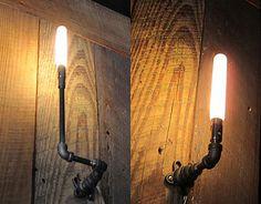 Vintage industriale americano stile retrò lampadario ragno corda di ...