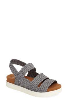 3f2e3fa0c  Crisp  Woven Platform Sandal (Women)