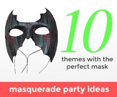 Planning a masquerade party but out of ideas? Here are our favorite themes!  So you want to throw a Masquerade ball? Whether you're hosting a fancy ball or a mysterious gathering, you have  a lot to think about in the planning process, but the most important thing you need to do is decide on is a theme. If you want to have a cohesive party where everything feels like it fits together, it is important to establish a theme before you begin any other planning.