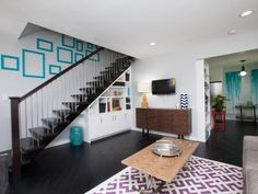 It's the most important <em>Flipping the Block</em> challenge yet: The living room sets the tone for the rest of the condo renovation, and is the first thing buyers will see upon stepping inside. See the before-and-after photos.