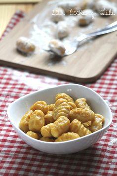Gnocchis de Butternut http://www.cookinglili.com/2013/01/gnocchi-de-butternut/