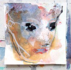 drawing#portrait#soft#painterly#figure#woman#contemplation#Petra Beeking# Figures, Contemplation, Painter, Drawings, Moose Art, Painting, Art, Portrait