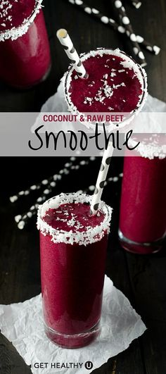 If you've never tried beets in a smoothie before… 1) don't freak out and 2) you should. Besides the fact, that they make for the most brilliant colored smoothie you'll ever make, they also have awesome detoxifying properties making this vegan and paleo recipe a natural detoxifier!