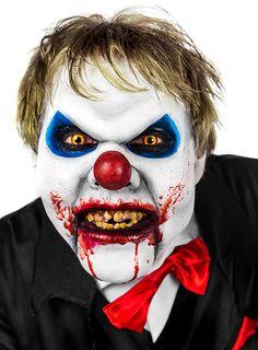 Halloween Make-up Tutorial: Horrorclown