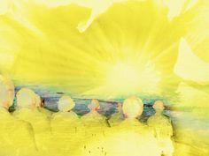 Sun Gazing My Arts, Sun, Fine Art, Painting, Painting Art, Paintings, Visual Arts, Painted Canvas, Drawings