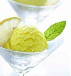 Green Fig and Lemon Ice Cream