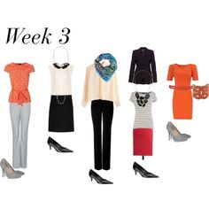 Week 3 business dress. 1month of clothes under $500