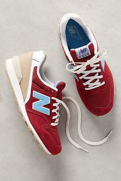 New Balance 696 Sneakers - anthropologie.com Chaussure Mode, Chaussures En  Toile, Chaussures f2a393284fbd