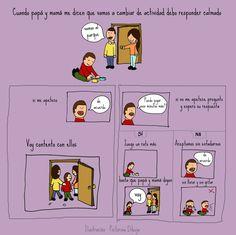 Dibujos para niños con T.E.A. y sus padres.: Historias Sociales