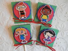 Lollipop Covers - Little Einsteins- great for birthdays and other occasions. $10.50, via Etsy.
