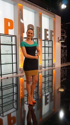 """Sílvia Alberto no cenário do """"Top Chef"""""""