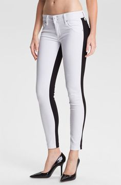Hudson Jeans 'Collin' Skinny Stretch Jeans (Vice Versa) - http://womenspin.com/clothing/jeans/hudson-jeans-collin-skinny-stretch-jeans-vice-versa/
