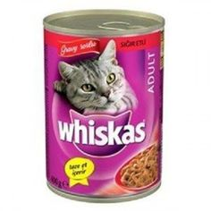 WHISKAS BİFTEKLİ YETİŞKİN KEDİ KONSERVESİ 400 GR #kedi #kedimaması Dog Food Recipes, Pets, Tableware, Glass, Animals And Pets, Dinnerware, Drinkware, Dishes, Dog Recipes