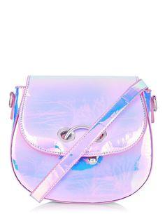 69d10c757317 Pink Holo Rhie Cross Body Bag. Pink Shoulder BagsCrossbody Shoulder BagPurse  ...