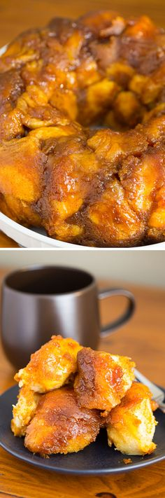 Pumpkin Pie Monkey Bread (and my new bedroom reveal!). Sponsored by Brooklinen!