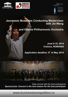 More info: http://www.bucharestcompetition.ro/conducting-masterclass-craiova/  Application deadline: 9 May